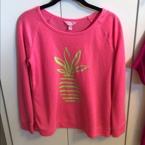Lilly Pulitzer Sandy Popover with Pineapple Design